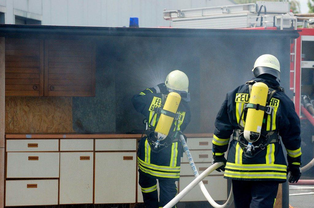 Fuego en cocinas